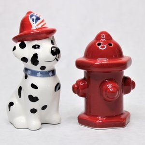 American Atelier Fire Dog & Hydrant S & P Shaker